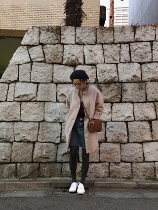 「JUPE STANDARD / DELAVE STRETCH /デニムスカート(A.P.C.)」 using this AMO looks