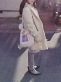 葵さんの「FREDERICKA |  パスケース(fafa|フェフェ)」を使ったコーディネート