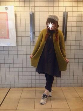 pual 横浜ジョイナス koba*rukaさんの(Handmade ハンドメイド)を使ったコーディネート