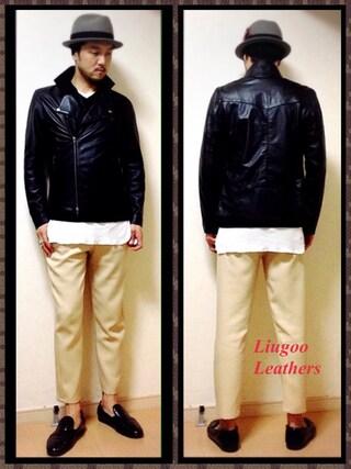 Y.N【Liugoo Leathers】さんの(Liugoo Leathers リューグーレザーズ)を使ったコーディネート