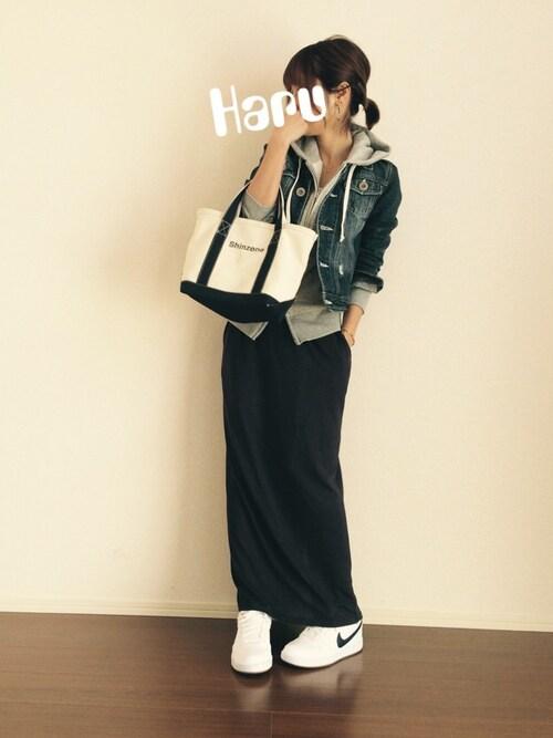 Haru☆さんの(無印良品)を使ったコーディネート