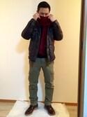 yutoさんの「Wオイルレザー 名刺入れ(BAGGY PORT|バギーポート)」を使ったコーディネート