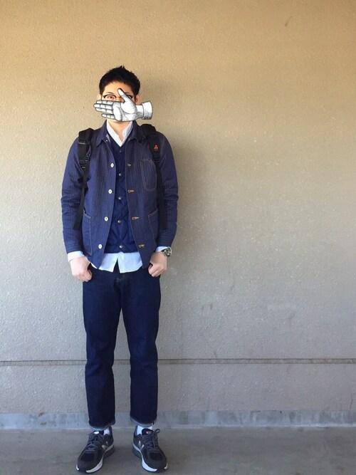 デニムオンデニムは今年のメンズファッションには欠かせないキーワード♪の画像