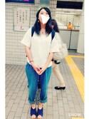 いづるさんの「Piccolo / Piccolo mini manual umbrella(marimekko|マリメッコ)」を使ったコーディネート