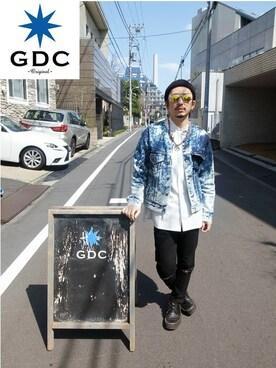 GDC TOKYO|GDCTOKYO-MAH-bow-さんの「KNIT CAP(GDC)」を使ったコーディネート