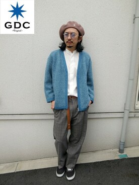 GDC TOKYO|GDCTOKYO-MAH-bow-さんの「BIG BERRET(GDC)」を使ったコーディネート