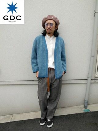 GDC TOKYO|GDCTOKYO-MAH-bow-さんの(GDC|ジーディーシー)を使ったコーディネート