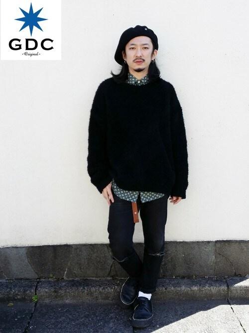 GDCTOKYO-MAH-bow-さんの「BIG BERRET(GDC)」を使ったコーディネート