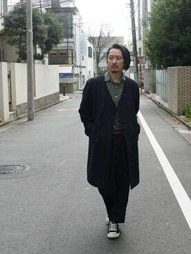 GDC TOKYO|GDCTOKYO-MAH-bow-さんの「LONG P COAT(GDC)」を使ったコーディネート