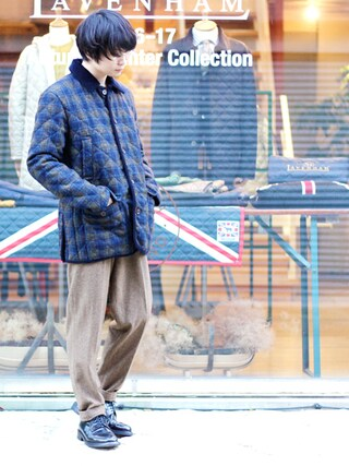 「【チャーチ/Church's】メンズプレーントゥシューズ ポリッシュドバインダーSHANNON(シャノン)(Church's)」 using this BRITISH MADE オンラインショップ|TomokiMatsui looks