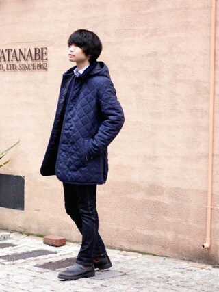 「DENSTON 2S/デンストン(ヘリンボーン)(LAVENHAM)」 using this BRITISH MADE オンラインショップ|TomokiMatsui looks
