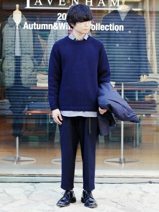 「クライド/CLYDE (メンズ)(MACALASTAIR)」 using this BRITISH MADE オンラインショップ|TomokiMatsui looks