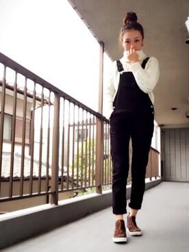 -natsumi-さんの「自撮つまみせん 笑(LOWRYS FARM)」を使ったコーディネート