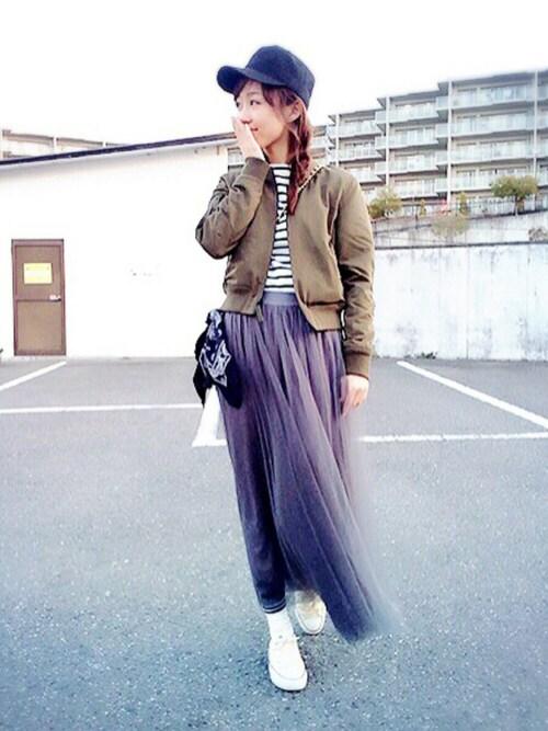 -natsumi-さんの(GU)を使ったコーディネート