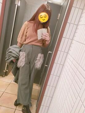 (E hyphen world gallery) using this バイちゃん looks