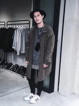 (adidas) using this Repos.羊騎龍 looks