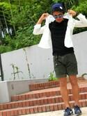 Tomさんの「KIJIMA/T RIB KNIT CAP(UNITED ARROWS ユナイテッドアローズ)」を使ったコーディネート