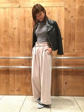 apart by lowrys/横浜ジョイナス店|MOMOCOさんの(apart by lowrys|アパートバイローリーズ)を使ったコーディネート