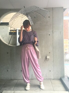 吉河唯さんの(COSMIC WONDER|コズミックワンダー)を使ったコーディネート