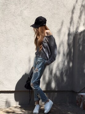 (Abercrombie&Fitch) using this nina / ニィナ looks