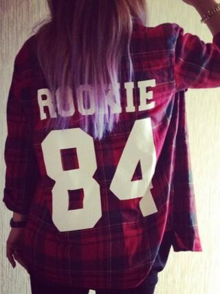 RONIさんの「FOREVER21/ナンバーチェックシャツ(FOREVER 21|フォーエバー トゥエンティーワン)」を使ったコーディネート