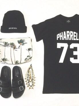 RONIさんの「LES (ART)ISTS/pharrell73(LES (ART)ISTS|レスアーティスト)」を使ったコーディネート