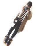 RONIさんの「DONOBAN/イザベルマラン風スニーカーブーツ(DONOBAN|クラブモナコ)」を使ったコーディネート