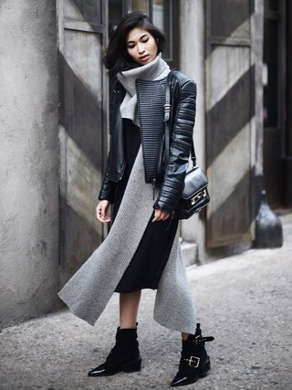 「Proenza Schouler The PS11 Classic leather shoulder bag(Proenza Schouler)」 using this VANNY looks