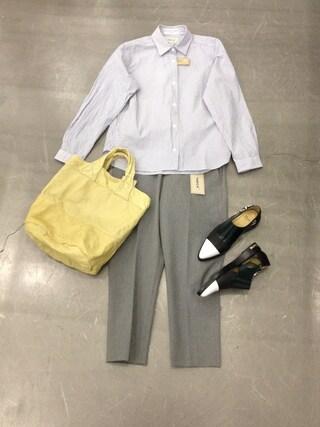 casaguccaさんの「コンフォートシャツ(YAECA|ヤエカ)」を使ったコーディネート