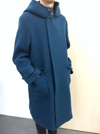 casaguccaさんの「フーデッドコート(no brand|ノーブランド)」を使ったコーディネート