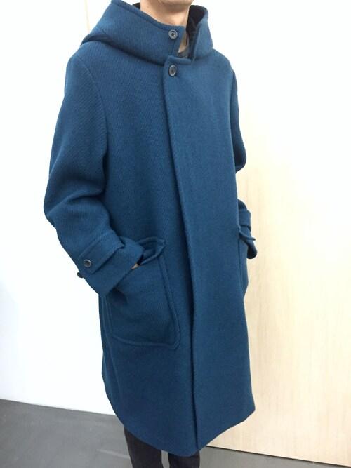 casaguccaさんの「フーデッドコート(no brand)」を使ったコーディネート
