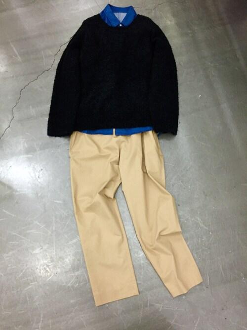 casaguccaさんの「シャツ(no brand)」を使ったコーディネート