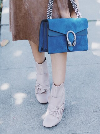 「Gucci Dionysus Suede Shoulder Bag(Gucci)」 using this Sheree looks