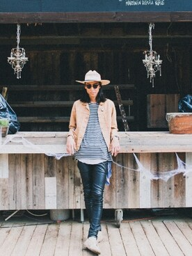(STETSON) using this BENCH AT THE GREENE|RYOTA MIYOSHI looks