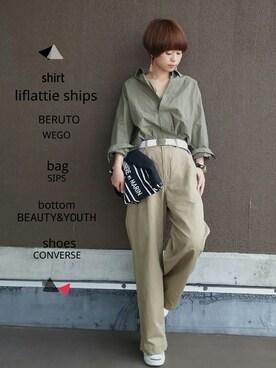 YUKIさんの(SHIPS for women|シップスフォーウィメン)を使ったコーディネート