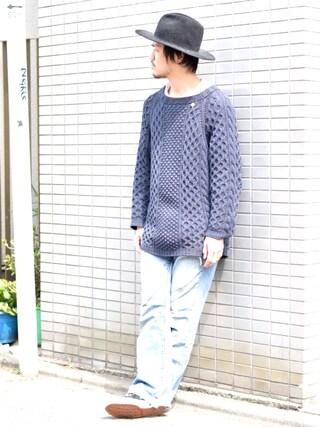 OWL|junpei shinoharaさんの(UNUSED|アンユーズド)を使ったコーディネート