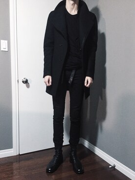 (Rick Owens) using this Cohen looks