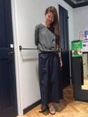 sumikaさんの「EARRING(petite robe noire|プティ ローブ ノアー)」を使ったコーディネート