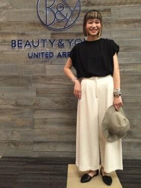 ビューティ&ユース ユナイテッドアローズ 西宮店 Tomomi Okudaさんの(muller of yoshiokubo ミュラー オブ ヨシオクボ)を使ったコーディネート