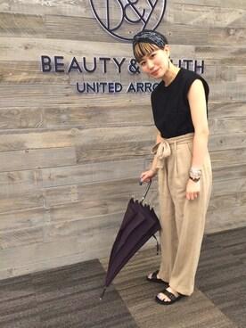 ビューティ&ユース ユナイテッドアローズ 西宮店|Tomomi Okudaさんの(6(ROKU) BEAUTY&YOUTH UNITED ARROWS|ロク ビューティアンドユースユナイテッドアローズ)を使ったコーディネート