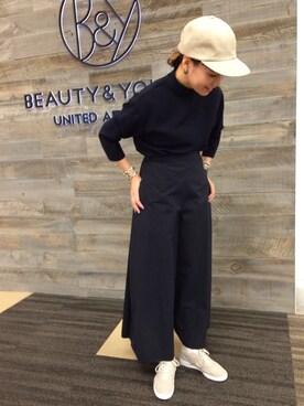 ビューティ&ユース ユナイテッドアローズ 西宮店|Tomomi Okudaさんの(6(ROKU) BEAUTY&YOUTH UNITED ARROWS)を使ったコーディネート