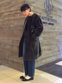 Tomomi Okudaさんの「BY カラーパーツコンビ イヤリング ◆(BEAUTY&YOUTH UNITED ARROWS|ビューティアンドユースユナイテッドアローズ)」を使ったコーディネート