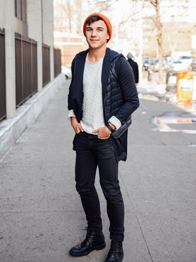 (UNIQLO) using this Justin Livingston looks