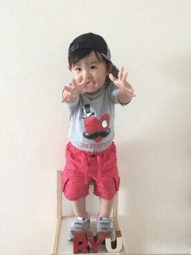 RYU ◡̈♡さんの(babyGAP|babyGAP)を使ったコーディネート