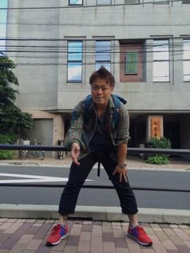 masashi yamamotoさんの(FREE CITY|フリーシティ)を使ったコーディネート