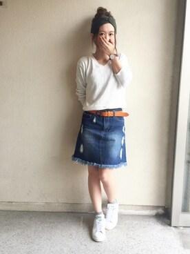 haru ◎さんの(RETRO GIRL|レトロガール)を使ったコーディネート