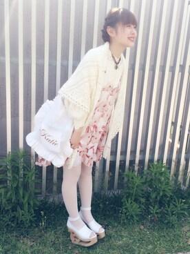 miwaさんの(LIZ LISA|リズリサ)を使ったコーディネート