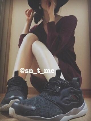 「ドルマンVNKミドルOP(BLACK by moussy)」 using this ♡スニ女♡ looks