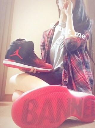 「プラッド コットンリネン シャツ(DENIM & SUPPLY)」 using this ♡スニ女♡ looks