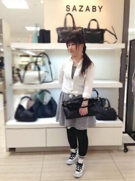 SAZABY 名古屋名鉄|KUNOさんの(SAZABY|サザビー)を使ったコーディネート